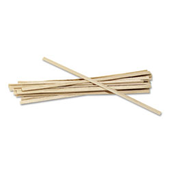 Royal   Wood Coffee Stirrers, 5 1/2 in Long, Woodgrain, 10000 Stirrers/Carton