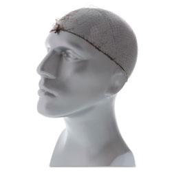Royal   Lightweight Latex-Free Hairnets, Dark Brown, 24 in., Nylon, 144/Box