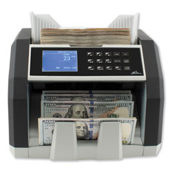 Royal Sovereign International Front Load Bill Counter w/ Value Counting/Counterfeit Detection, 1500 Bills/Min