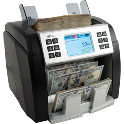 Royal Sovereign International Currency Counter, Bank Grade, 10-1/5 inWx10-3/5 inLx11-1/5 inH, BK