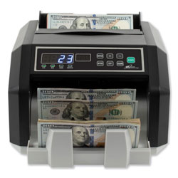 Royal Sovereign International Back Load Bill Counter with Counterfeit Detection, 1400 Bills/Min
