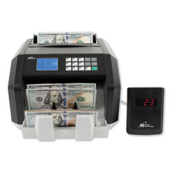 Royal Sovereign International Back Load Bill Counter w/ Value Counting/Counterfeit Detection, 1400 Bills/Min