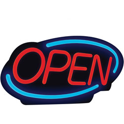 Royal Sovereign International LED Open Sign, 21 in x 13 in, Multi