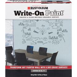Rust-Oleum Write-On Paint, Writable/Erasable Surface, 50 sq. ft.
