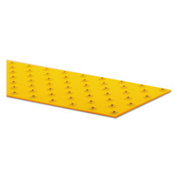 Rust-Oleum XtremeGrip Studded Anti-Slip Adhesive Strips, 5 in x 24 in, Yellow