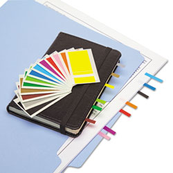 Redi-Tag/B. Thomas Enterprises Removable Page Flags, Four Assorted Colors, 900/Color, 3600/Pack