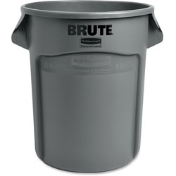 Rubbermaid Gray Round Brute Container, 20 Gallon