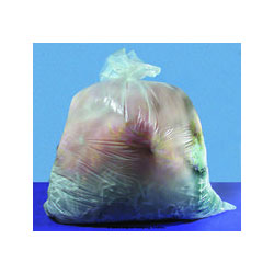 "Inteplast Clear Trash Bags, 55 Gallon, 12 Micron, 36"" X 60"", Case of 200"