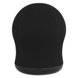 Safco Zenergy Swivel Ball Chair, Black Seat/Black Back, Black Base