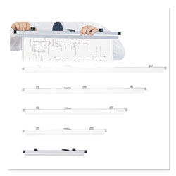 Safco Sheet File Hanging Clamps, 100 Sheets Per Clamp, 19.75w, 6/Carton