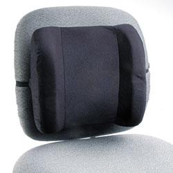 Safco Remedease High Profile Backrest,12.75w x 4d x 13h, Black