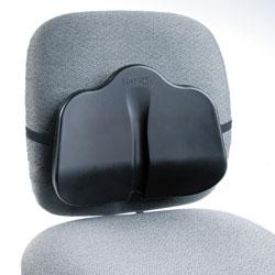 Safco Low Profile Backrest, 14w x 2.5d x 11h, Black