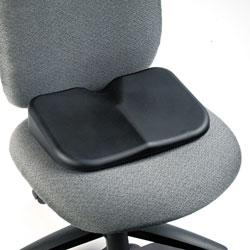 Safco Seat Cushion, 15.5w x 10d x 3h, Black