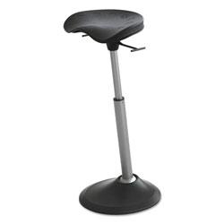 Safco Mobis II Seat by Focal Upright, Black/Black, Black Base