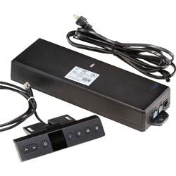 Safco Control Box, F/Medina Height-Adj Desk, Black