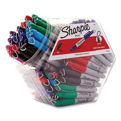 Sharpie® Mini Permanent Marker, Fine Bullet Tip, Assorted Colors, 72/Pack