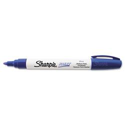 Sharpie® Permanent Paint Marker, Medium Bullet Tip, Blue