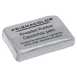 Sanford Design Kneaded Rubber Art Eraser, Rectangular, Large, Gray