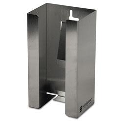 San Jamar Stainless Steel Disposable Glove Dispenser, Single-Box, 5 1/2w x 3 3/4d x 10h