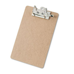 Saunders Recycled Hardboard Archboard Clipboard, 2 in Clip Cap, 8 1/2 x 12 Sheets, Brown