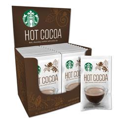 Starbucks Gourmet Hot Cocoa, 1 oz, 24/Box, 6 Boxes/Carton