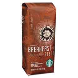 Starbucks Whole Bean Coffee, Breakfast Blend, 1 lb Bag