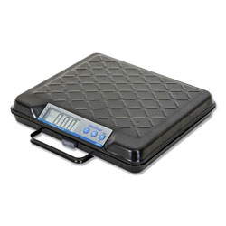 Salter Brecknell Portable Electronic Utility Bench Scale, 100lb Capacity, 12 x 10 Platform