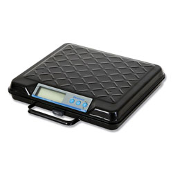 Salter Brecknell Portable Electronic Utility Bench Scale, 250lb Capacity, 12 x 10 Platform