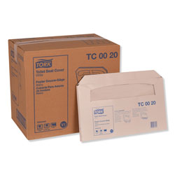 Tork Toilet Seat Cover, 14.5 x 17, White, 250/Pack, 20 Packs/Carton