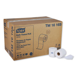 Tork Universal Bath Tissue, Septic Safe, 2-Ply, White, 500 Sheets/Roll, 96 Rolls/Carton