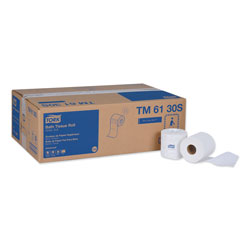 Tork Advanced Bath Tissue, Septic Safe, 2-Ply, White, 500 Sheets/Roll, 48 Rolls/Carton