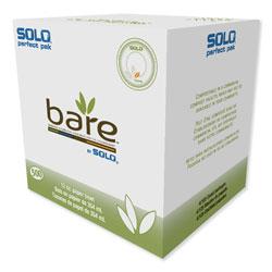 Solo Bare Eco-Forward Sugarcane Dinnerware, 12oz, Bowl, Ivory, 125/Pk, 8 Pks/Ct