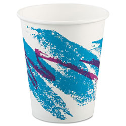 Solo Jazz Paper Hot Cups, 10oz, Polycoated, 50/Bag, 20 Bags/Carton