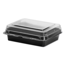 Solo Specialty Containers, Black/Clear, 18oz, 6.22w x 5.91d x 2.09h, 200/Carton