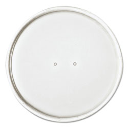 Dart Paper Lids for 32oz Food Containers, White, Vented, 4.6 inDia, 25/Bag, 20 Bg/Ctn