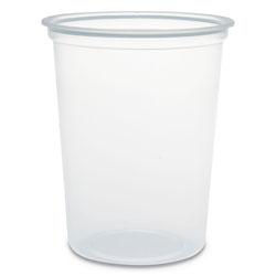 Solo Microgourmet Plastic Deli Container, 32 oz, Clear, 500/CT