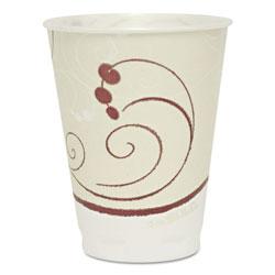 Solo Symphony Design Trophy Foam Hot/Cold Drink Cups, 12 oz
