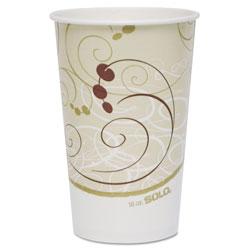 Solo Paper Cold Cups, 16 oz., Symphony Design, 50/Bag