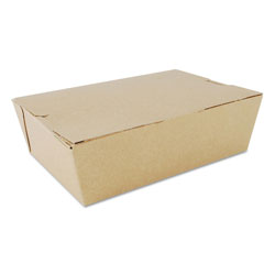 SCT ChampPak Carryout Boxes, #3, Kraft, 7.75 x 5.5 x 2.5, 200/Carton