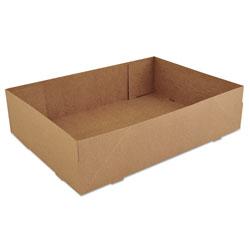 SCT Donut Trays, 13 1/2w x 9 7/8d x 3 3/8h, Brown, 250/Carton