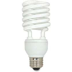 Satco CFL Spiral Bulb, 23 Watts, 3/Pack