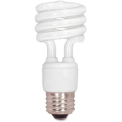 Satco CFL Spiral Bulb, 13 Watts