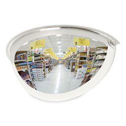 See All Half-Dome Convex Security Mirror, 18 in Diameter