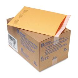 Paper Jiffylite® Jiffylite Self-Seal Bubble Mailer, #4, Barrier Bubble Lining, Self-Adhesive Closure, 9.5 x 14.5, Golden Kraft, 25/Carton
