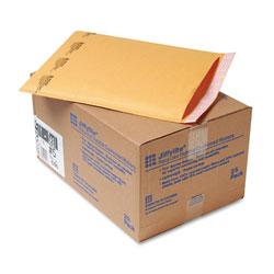 Paper Jiffylite® Jiffylite Self-Seal Bubble Mailer, #5, Barrier Bubble Lining, Self-Adhesive Closure, 10.5 x 16, Golden Brown Kraft, 25/Carton