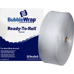 Bubble Wrap® Cushioning Material, 12 in x 250' Roll, 3/16 in Bubble