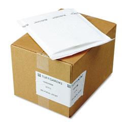 Sealed Air Jiffy TuffGard Self-Seal Cushioned Mailer, #2, Barrier Bubble Lining, Self-Adhesive Closure, 8.5 x 12, White, 25/Carton