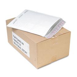Sealed Air Jiffy TuffGard Self-Seal Cushioned Mailer, #4, Barrier Bubble Lining, Self-Adhesive Closure, 9.5 x 14.5, White, 25/Carton