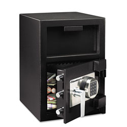 Sentry Digital Depository Safe, Extra Large, 1.3 cu ft, 14w x 15.6d x 24h, Black