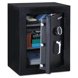 Sentry Executive Fire-Safe, 3.4 cu ft, 21.75w x 19d x 27.75h, Black